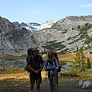 Cookerhiker & Scarf en-route to Donahue Pass on John Muir Trail by Cookerhiker in Other Trails