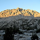Alpenglow on JMT Rae Lakes area by Cookerhiker in Other Trails