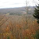 Eastward view from Allegheny Trail