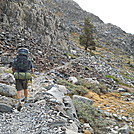 Hiking up from Garnet Lake on John Muir Trail by Cookerhiker in Other Trails
