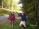 Cookerhiker & Northern Harrier Start Their Hike