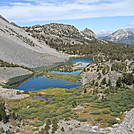 Duck Lake from Duck Pass