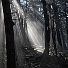Sun breaking through fog on Killington massif by Cookerhiker in Trail & Blazes in Vermont