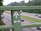 AT crossing of I-87 NY Thruway by Cookerhiker in Sign Gallery