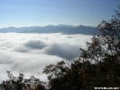 Above the clouds on Swim Bald