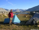 JMT - Cookerhiker camps below Mather Pass