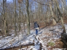 Cookerhiker amidst vanishing snow by Cookerhiker in Trail & Blazes in Virginia & West Virginia