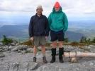 Cookerhiker & Northern Harrier atop Mt. Abraham