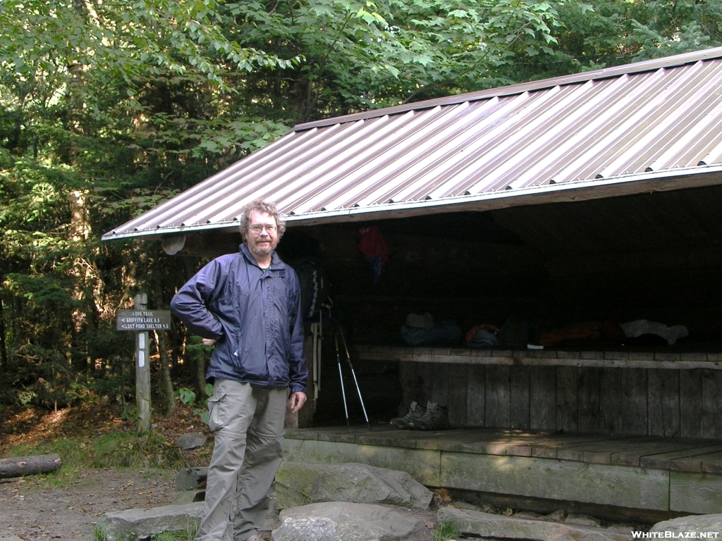 Cookerhiker at Peru Peak Shelter