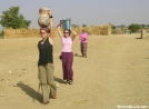 Carrying water from the Niger River