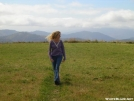 Scarf strolls along Max Patch by Cookerhiker in Views in North Carolina & Tennessee
