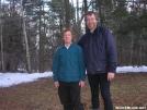 Deb & Cookerhiker at Silver Hill Campsite