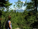 Deb gazing at view from Catskills by Cookerhiker in Day Hikers