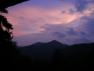 Dusk at Whiteface Shelter by Cookerhiker in Long Trail