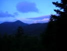 Early morning at Whiteface Shelter