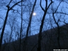 Early morning moon at Matts Creek Shelter by Cookerhiker in Views in Virginia & West Virginia