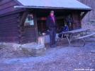 Alpenglow at HighTop Hut, Shenandoah NP