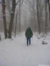 HIking through snow in Shenandoah by Cookerhiker in Trail & Blazes in Virginia & West Virginia