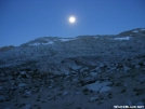 JMT - early morning moonrise