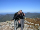 Nails & Scarf happy to reach Tableland by Cookerhiker in Katahdin Gallery
