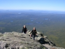 Nails & Scarf reach the Tableland by Cookerhiker in Katahdin Gallery