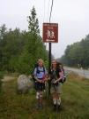 Nails & Scarf start their hike in Gorham