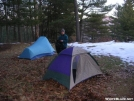 Silver Hill campsite by Cookerhiker in Trail & Blazes in Connecticut