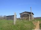 Outbuildings on abandoned farm