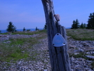 American Discovery Trail Marker Dolly Sods Wilderness
