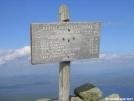 Avery Peak summit by Cookerhiker in Trail & Blazes in Maine