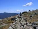 Trail Above Treeline In Whites