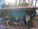 Relaxing at Cold Spring Shelter by Cookerhiker in Section Hikers