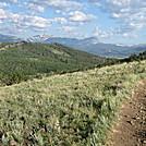 Trail to Kenosha Pass - Colorado Trail thruhike 2011