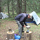 Swan River campsite - Colorado Trail thruhike 2011 by Cookerhiker in Colorado Trail