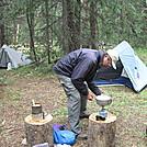Swan River campsite - Colorado Trail thruhike 2011 by Cookerhiker in Colorado Trail