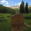 Colorado Trail - Holy Cross Wilderness