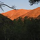 Colorado Trail - Morning sun on Mt. Princeton