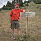 Cookerhiker reaches Continental Divide