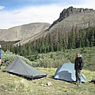 Campsite on upper part of Cochetopa Creek by Cookerhiker in Colorado Trail
