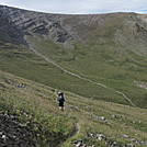 Descending from San Luis Pass by Cookerhiker in Colorado Trail