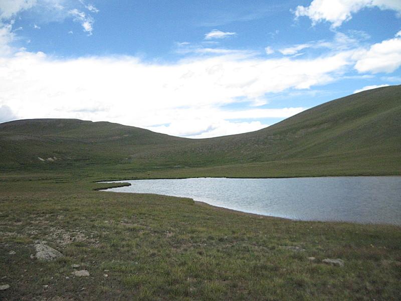 Unnamed lake on Colorado Trail, Segment 21