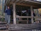 Cookerhiker at Sassafras Gap Shelter