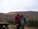 Cookerhiker & Scarf At Overmountain Shelter