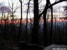 Sunrise at William Penn shelter