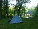 First Night's Campsite On C&O Canal Towpath by Cookerhiker in Other Trails