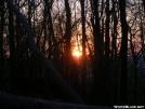 Sun sets from Garden Mountain