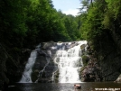 Laurel Falls on a hot day