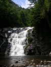 Laurel Falls verticle by Cookerhiker in Views in North Carolina & Tennessee
