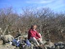 Cookerhiker Makes Dinner On Hightop Mountain, Shenandoah Np