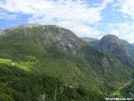 Mountains above Aurland Fjord, Norway